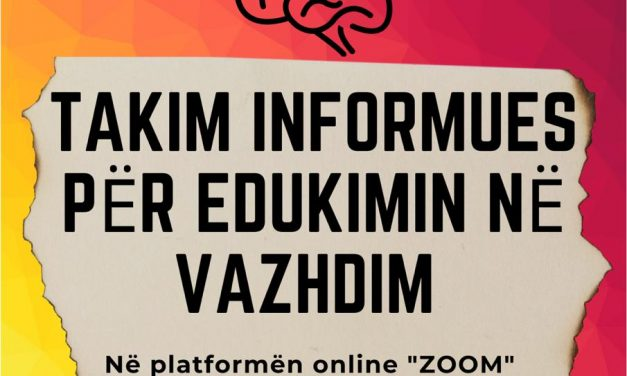 Takim informues mbi Edukimin në Vazhdim